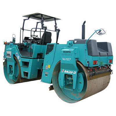 舗装・締固め機械